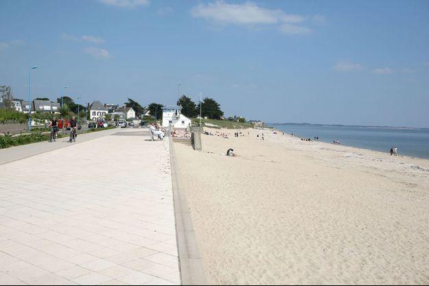 La plage de Damgan.