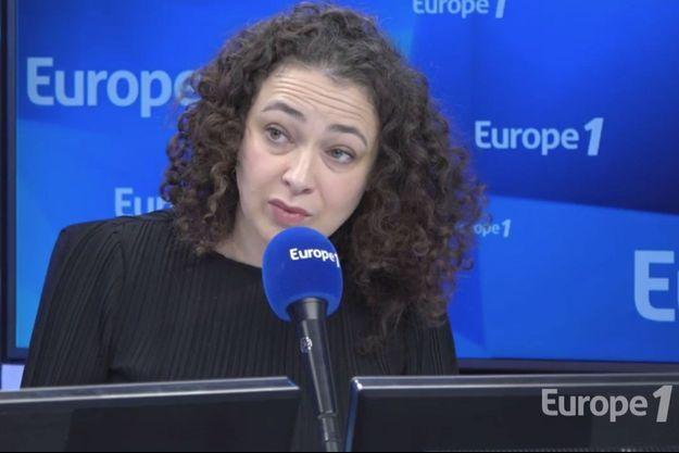 Delphine Horvilleur au micro d'Europe 1, le 12 février 2019.