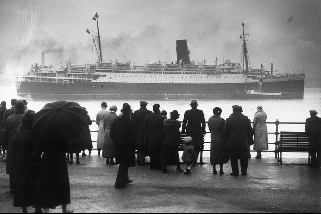 Le Lancastria en 1936.
