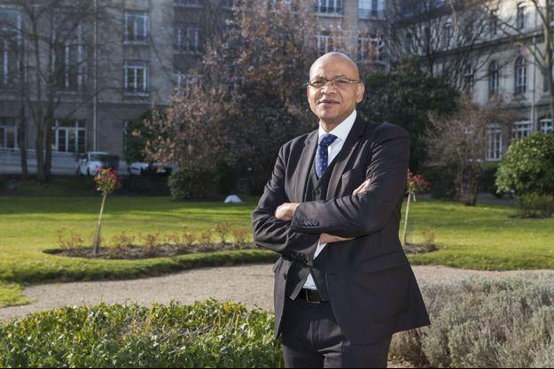 Le préfet Pierre N'Gahane, secrétaire général du CIPD (Centre interministériel de Prévention de la Délinquance)