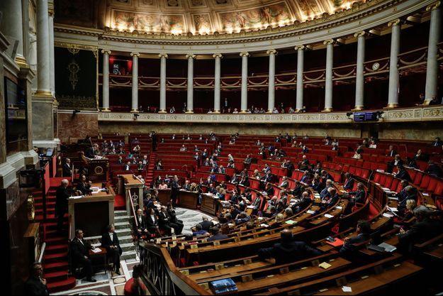 L'Assemblée nationale, le 5 novembre 2019.