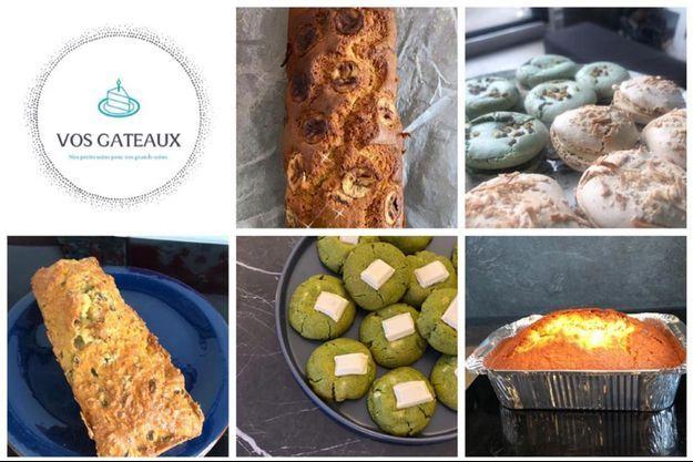 Des exemples de gâteaux du groupe Vos Gâteaux