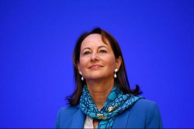 Ségolène Royal le 25 novembre dernier à Paris lors d'une conférence de presse sur la COP21.
