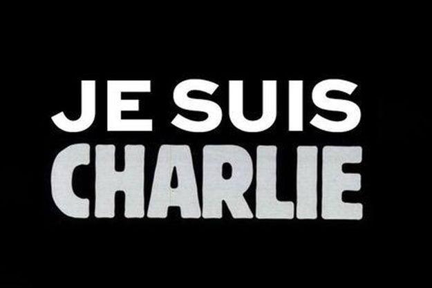 Une image qui circule sur les réseaux sociaux en soutien aux victimes et aux rescapés de l'attaque de Charlie Hebdo.