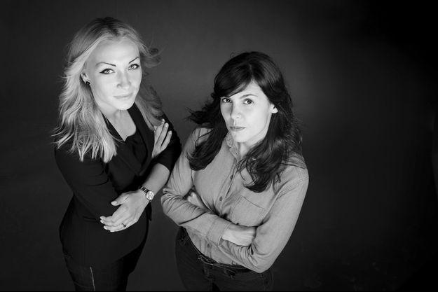Inna Shevchenko et Pauline Hillier, les auteurs du livre «Anatomie de l'oppression».