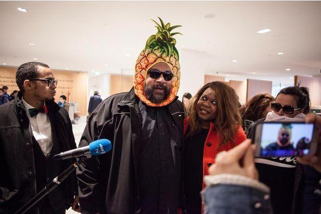Dieudonné au tribunal de Paris, le 26 mars 2019.