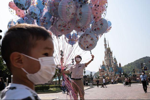Disneyland Hong Kong a rouvert en février.