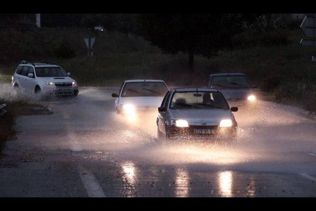 Les routes du Var sont inondées.