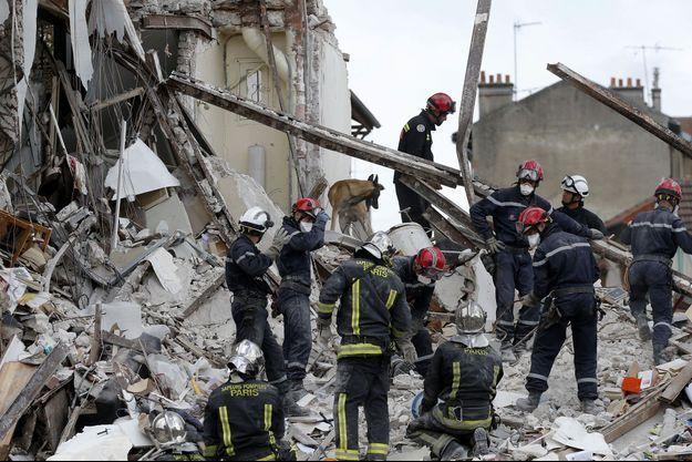 Cet immeuble de Rosny-sous-Bois a explosé dimanche matin.