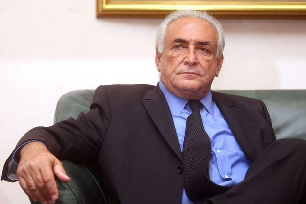 Dominique Strauss-Kahn en septembre 2013.