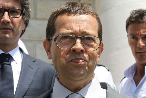 Nicolas Bonnemaison à son arrivée au tribunal de Pau au premier jour de son procès, le 11 juin dernier.