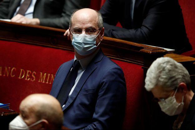 Jean-Michel Blanquer, à l'Assemblée le 1er avril.