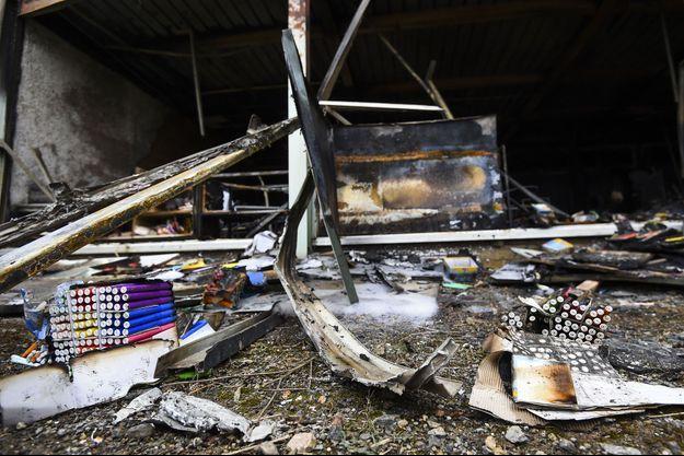 Le feu a ravagé une école de Béziers.