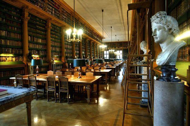 La bibliothèque de l'Institut de France.