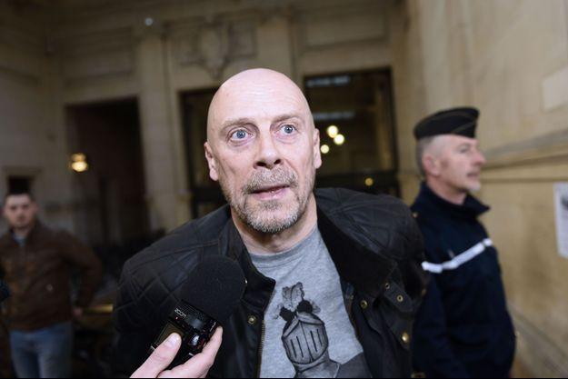 Alain Soral en mars 2015 lors de son procès à Paris.