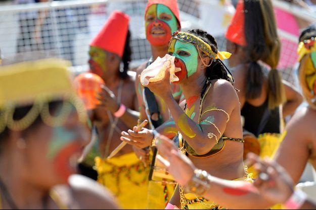Un groupe de danse du carnaval en Guadeloupe, ici en 2016 (image d'illustration).