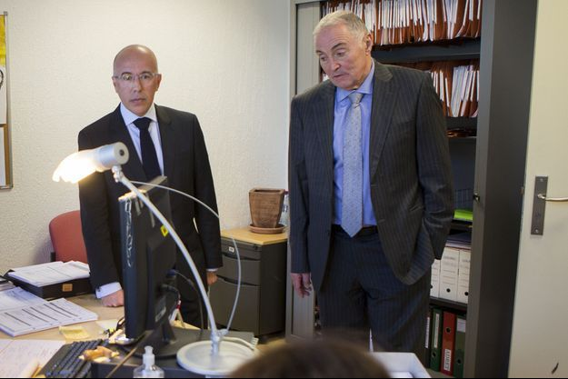 Le président du departement des Alpes-Maritimes Eric Ciotti
