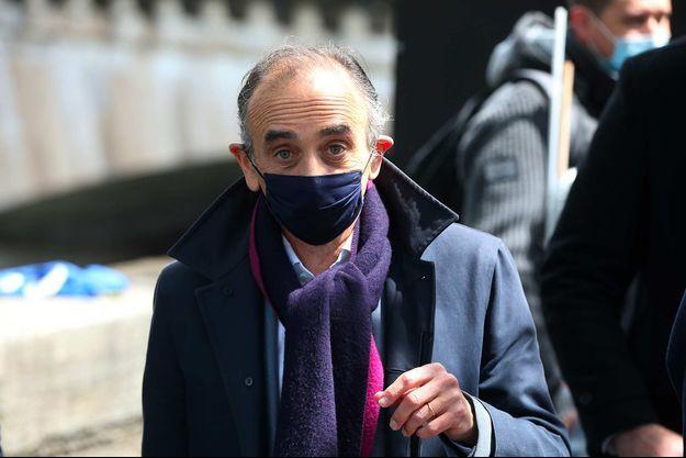 Eric Zemmour à Paris, en mai 2021.