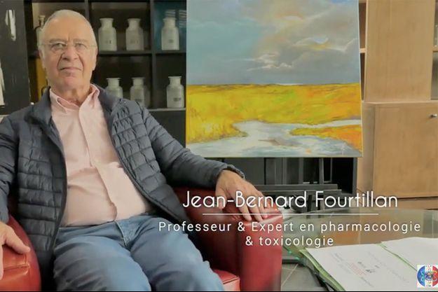 """Jean-Bernard Fourtillan, intervenant dans le documentaire controversé """"Hold-Up"""" sur le Covid."""