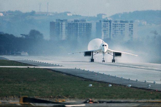Le premier atterrissage du Concorde, le 2 mars 1969.