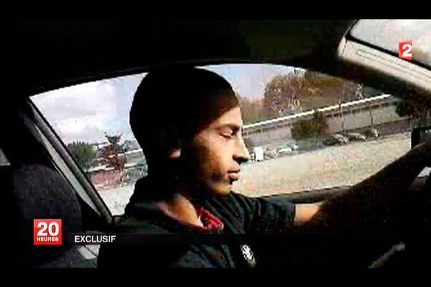 Mohamed Merah, sur une vidéo diffusée par France 2.