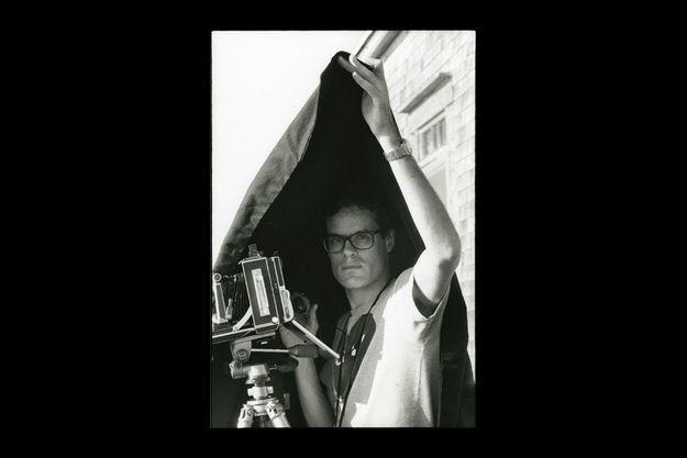 Martin d'Orgeval photographié par François-Marie Banier en juillet au Canada.
