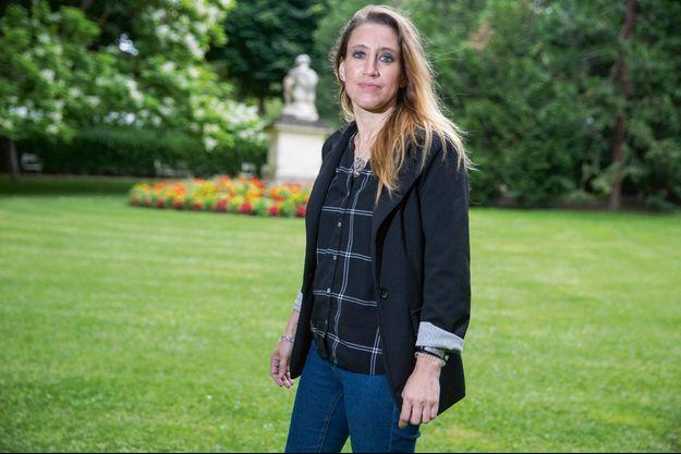 Valérie Bacot, au jardin du Luxembourg à Paris, le 30 juin, cinq jours après le verdict.