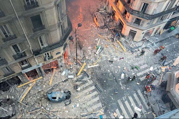 L'explosion avait fait quatre morts et 66 blessés.