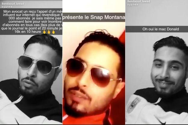 Jawad Bendaoud sur Snapchat