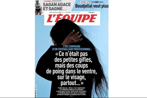 """Le témoignage glaçant de """"Miriam"""" dans """"L'Equipe""""."""