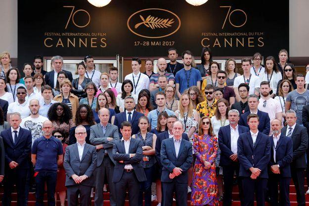 Les stars réunies pour le 70e anniversaire ont témoigné leur solidarité