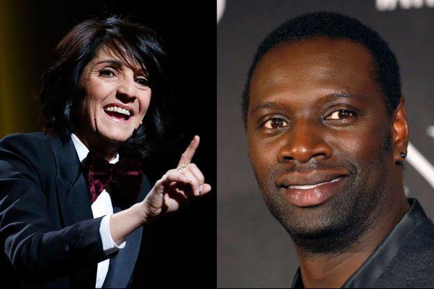 Florence Foresti et Omar Sy, convives de choix des Français pour leur réveillon.