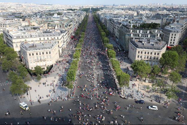 Paris piétonnisé ce dimanche.