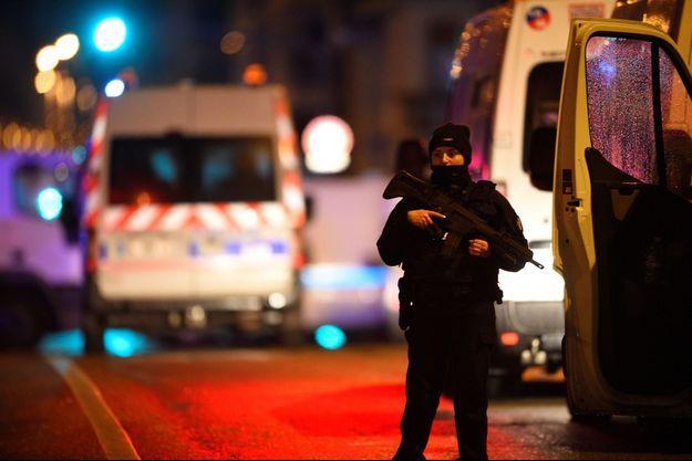La police est en cours d'intervention dans le quartier de Neudorf, à Strasbourg.