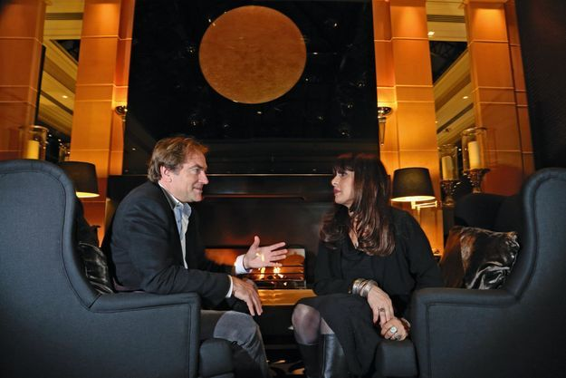 Didier van Cauwelaert et Geneviève Delpech