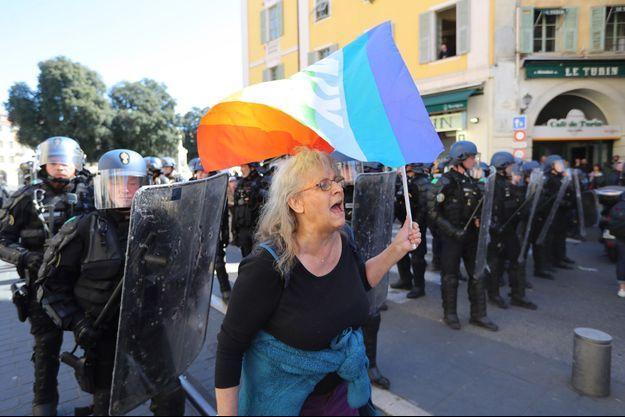 Geneviève Legay à Nice samedi dernier.