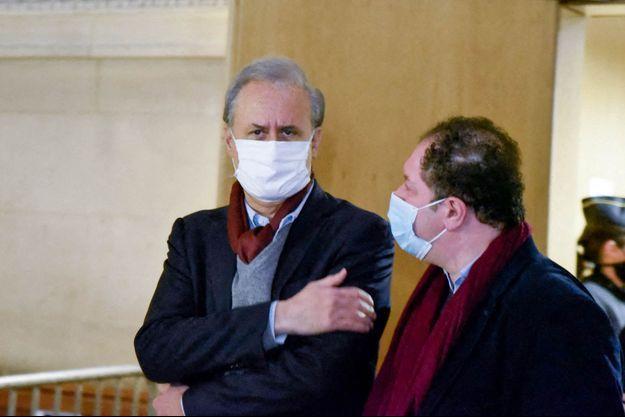 Georges Tron, mardi au tribunal.