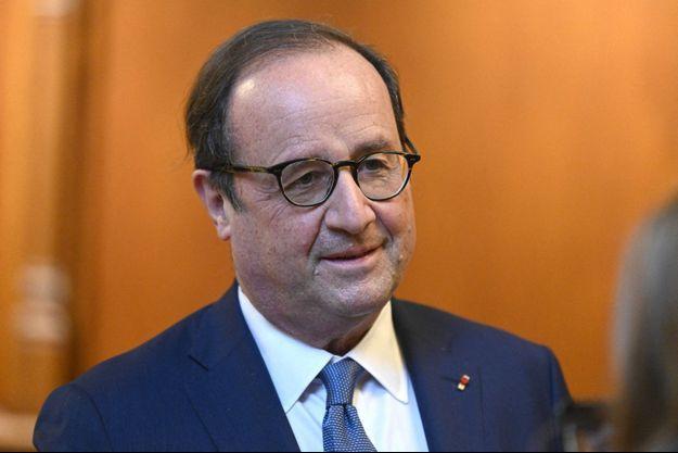 François Hollande en février 2021 à Compiègne.