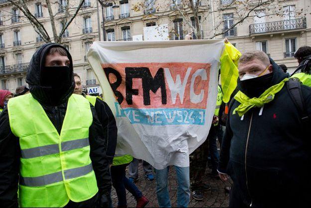 Photo prise le 1er décembre 2018 à Paris.