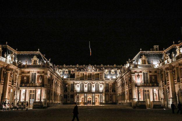 Ici, la cour royale du château de Versailles en septembre 2018.