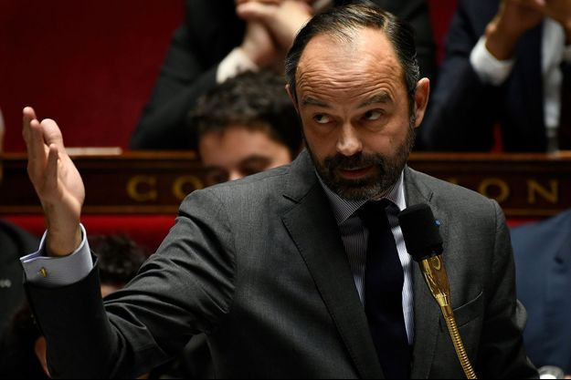 Le Premier ministre Edouard Philippe à l'Assemblée nationale le 18 décembre.