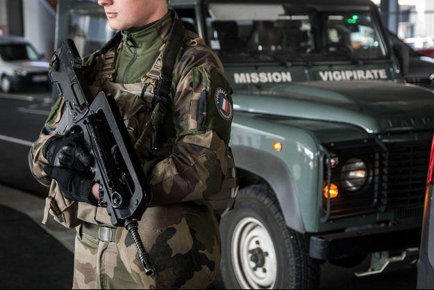 Les militaires de l'opération Sentinelle sont mobilisés ce samedi.