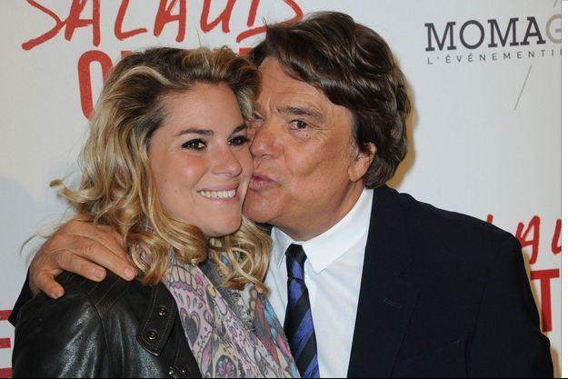 Sophie et Bernard Tapie lors d'une avant-première en 2014.