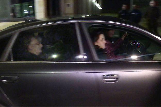 Jacqueline Sauvage est sortie de prison mercredi soir.