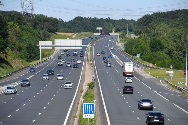 Une autoroute en France (image d'illustration).
