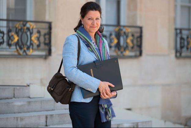 Agnès Buzyn à l'Elysée le 29 mai.