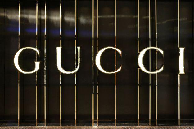 Le logo de la marque Gucci