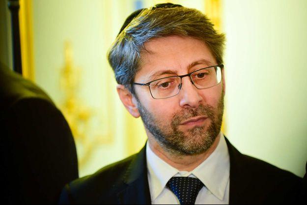Haïm Korsia a été réélu grand rabbin de France.