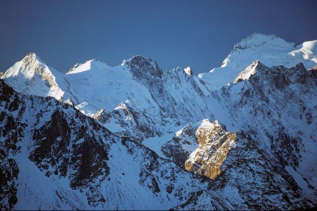 La Barre des Ecrins dans les Hautes-Alpes.