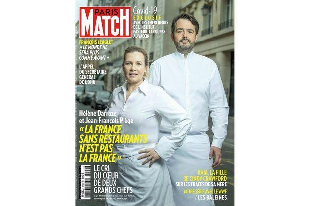 Hélène Darroze et Jean-François Piège